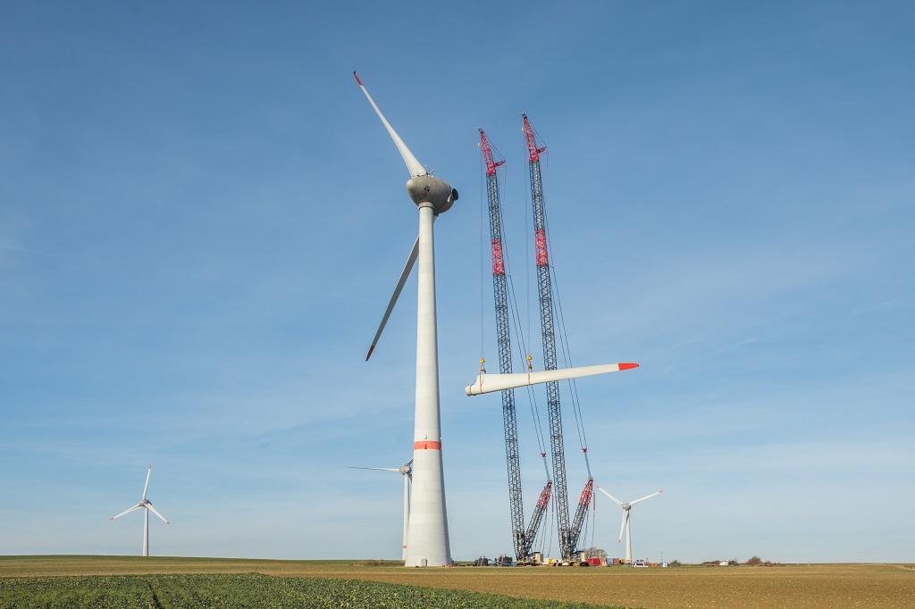 Самый большой ветряк в мире