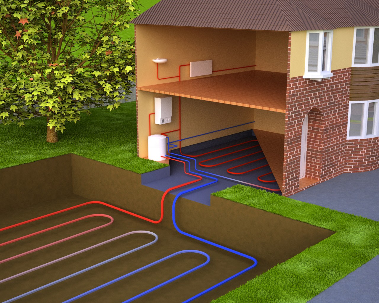 Тепловые насосы - энергия