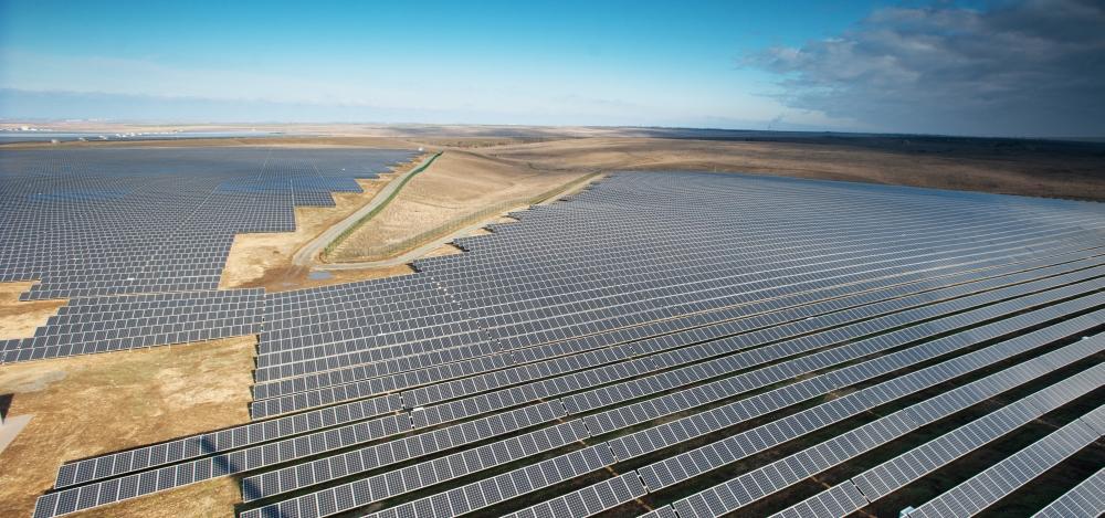 Строительство солнечной электростанции