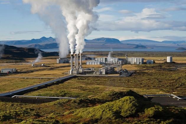 Несьявеллир ГеоТЭС, Исландия
